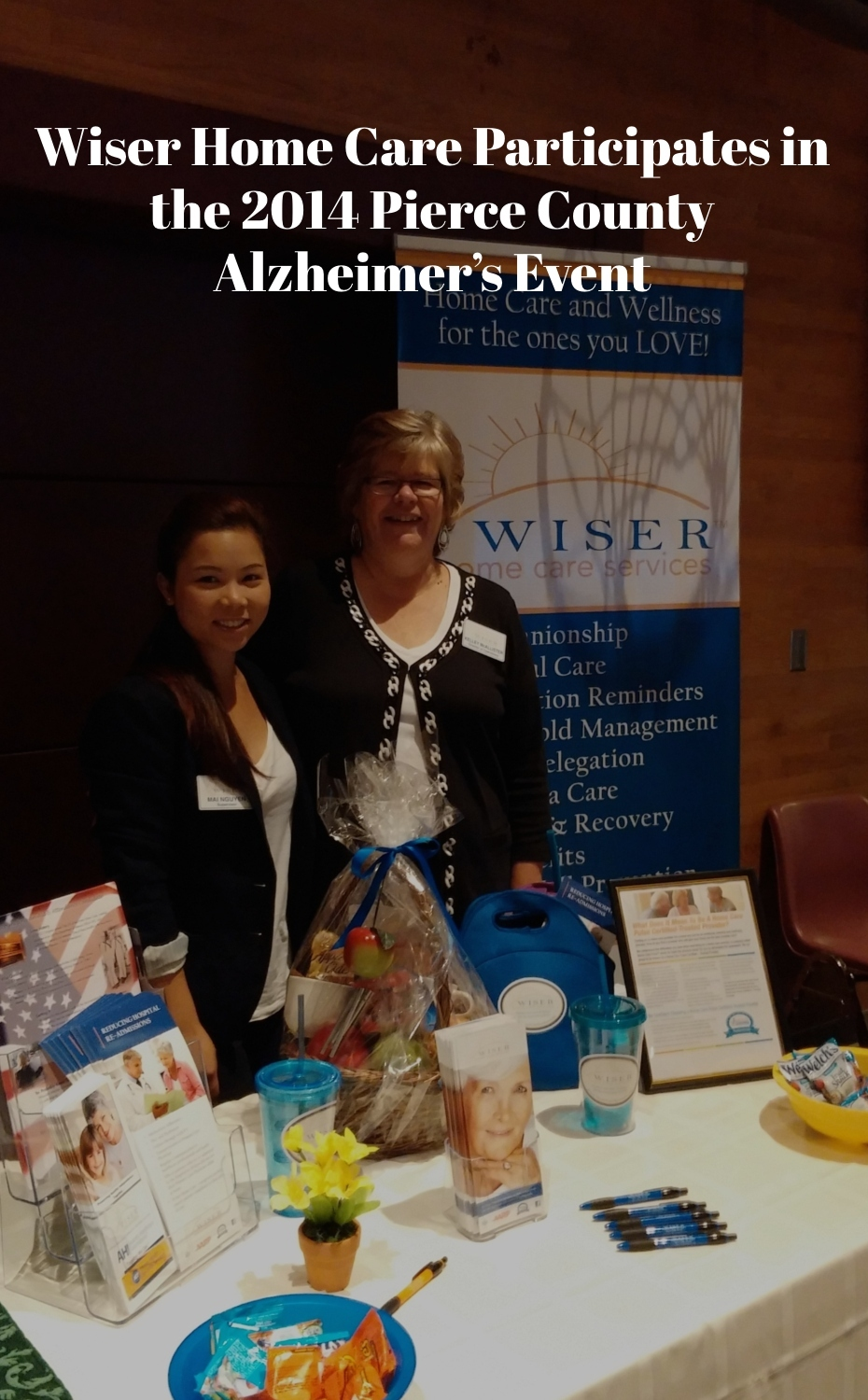 Wiser Home Care Participates in the 2014 Pierce County Alzheimer's Event
