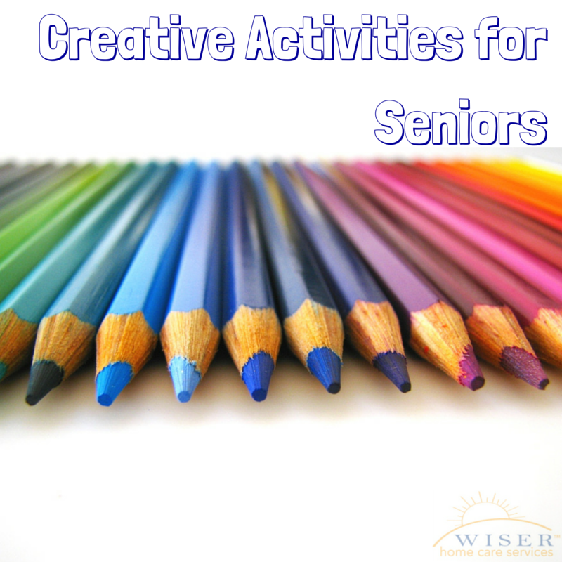 Creative activities can help keep our minds and senses active. Read about the many benefits creative time can have on us and our loved ones as we age.