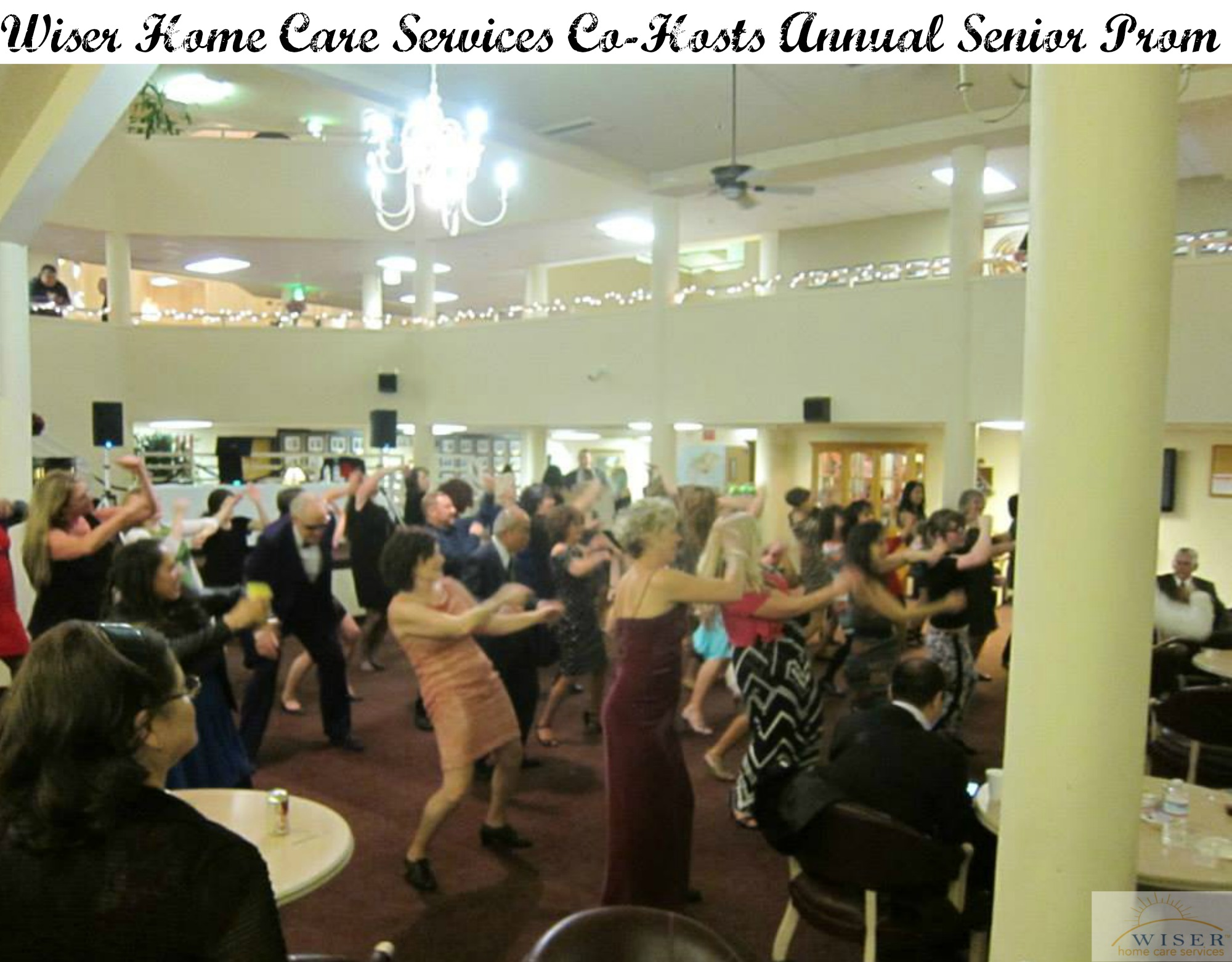 The Senior Prom was a big hit thanks to this team from Wiser Home Care Services and the YMCA.