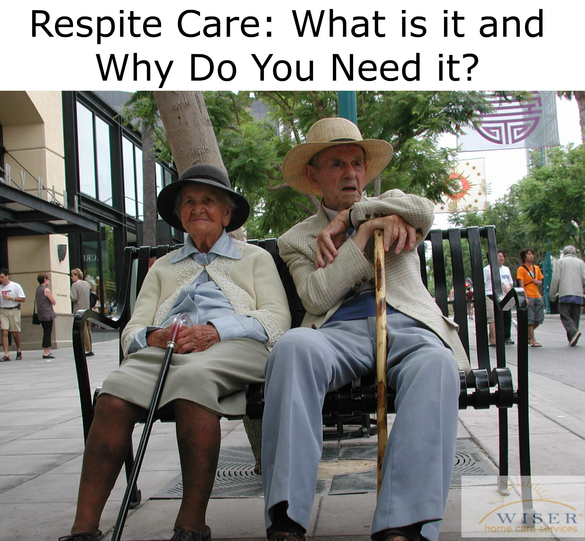 Nearly 44 million americans care for an elderly loved one. To be effective, one must also care for themselves. Respite care helps.