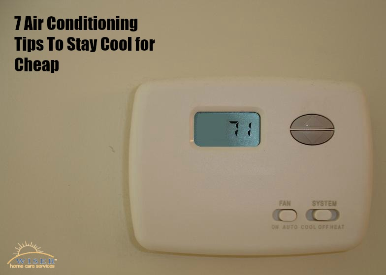 August is usually the hottest time of the year. The best way to keep the elderly cool is air conditioning. These tips will keep the bill cool too.