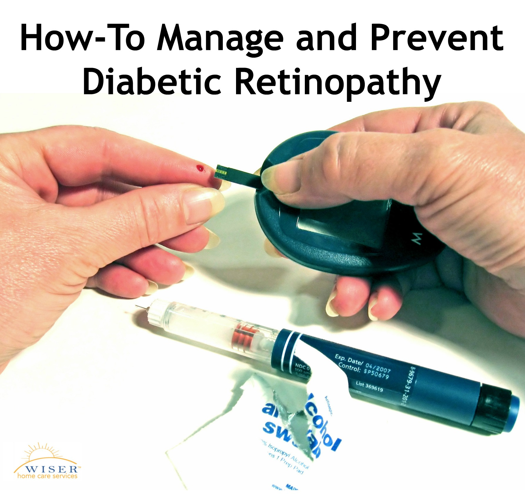 Diabetic Retinopathy(DR) is the leading cause of blindness worldwide. Once you have it, there is no getting rid of it. Learn how to manage DR here.