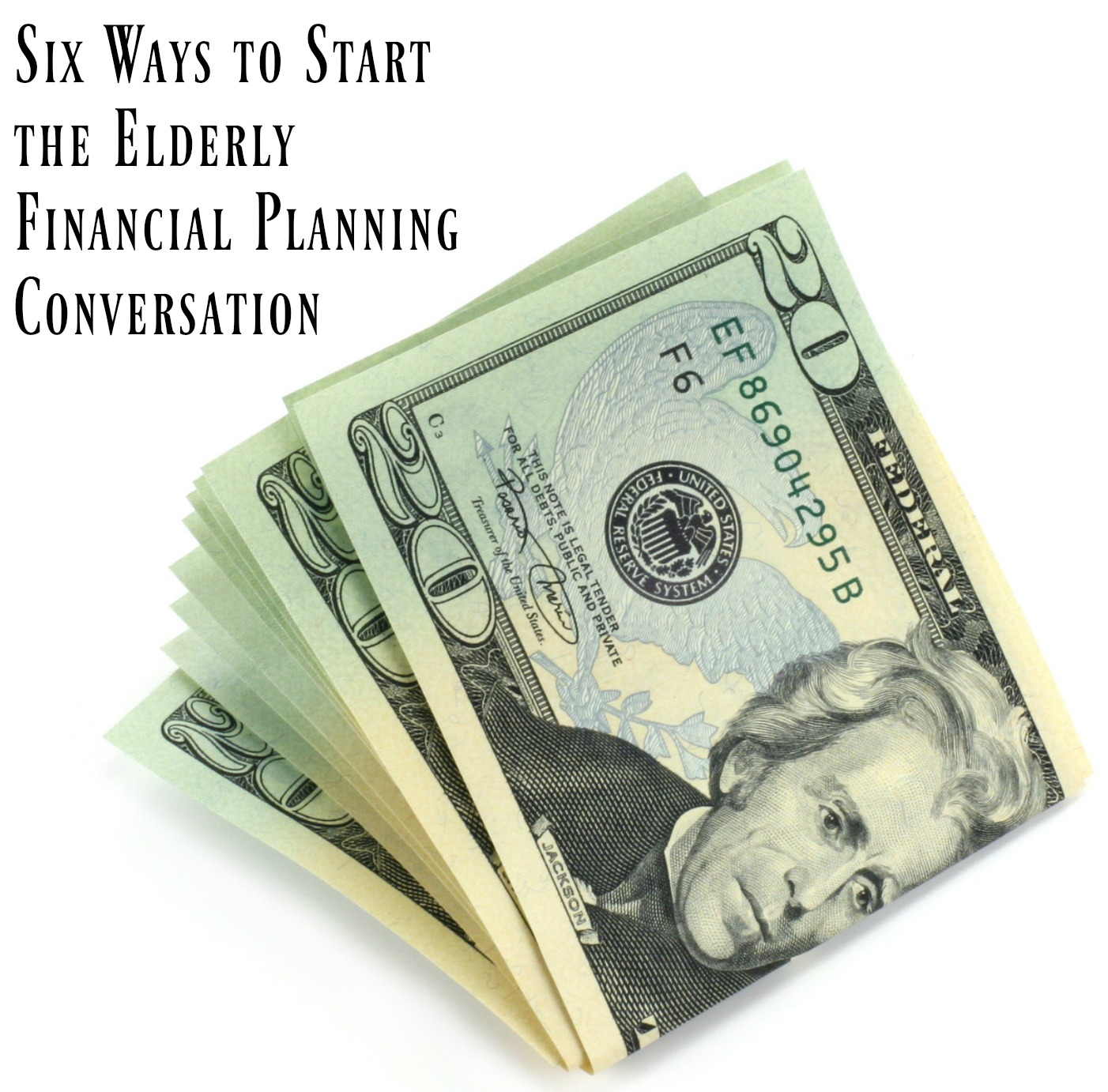 Personal financial planning is often a difficult conversation to have with your elderly loved one but it is a necessary one. These 6 tips will jumpstart it.