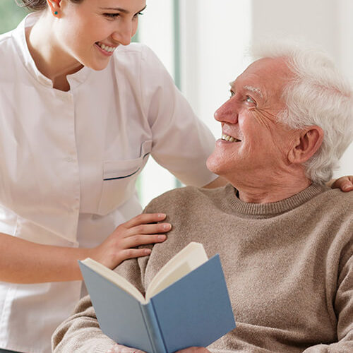 Wiser Home Care Service's caregivers are specially trained to care for loved ones who suffer from Alzheimer's.