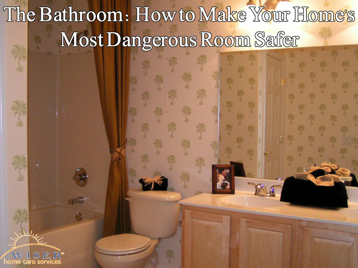 The combination of water & slick flooring make the bathroom extremely dangerous. The tips in this article will help keep your senior safe in the bathroom.